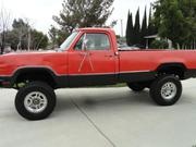 1973 DODGE pickup Dodge Power Wagon ADVENTURER